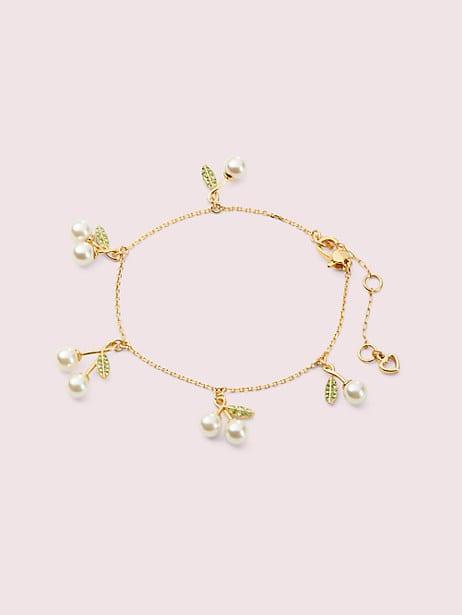 cherie cherry charm bracelet by kate spade new york