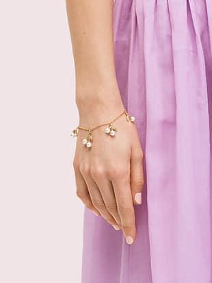 cherie cherry charm bracelet by kate spade new york hover view