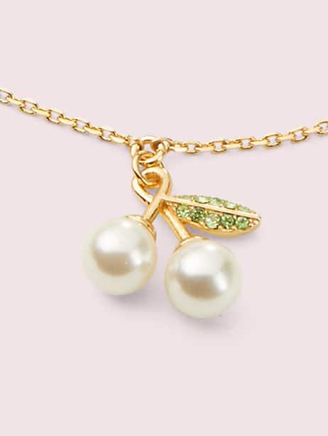 Cherie cherry charm bracelet   Kate Spade New York