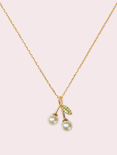 cherie cherry pendant by kate spade new york