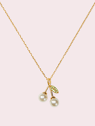 cherie cherry pendant by kate spade new york non-hover view