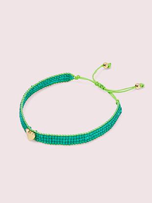 heritage spade friendship bracelet by kate spade new york non-hover view