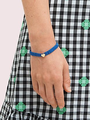 heritage spade friendship bracelet by kate spade new york hover view
