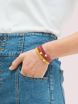 heritage spade friendship bracelet by kate spade new york hover view