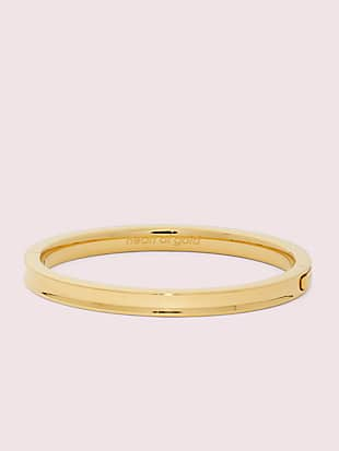 heart of gold hinged bangle by kate spade new york non-hover view