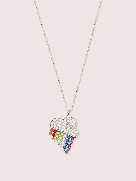 into the sky rainbow mini pendant by kate spade new york