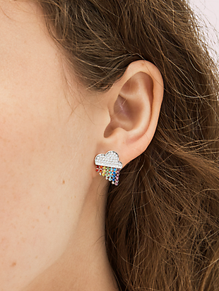 into the sky rainbow studs by kate spade new york hover view