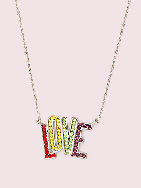 into the sky love mini pendant by kate spade new york