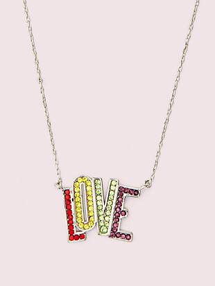 into the sky love mini pendant by kate spade new york non-hover view