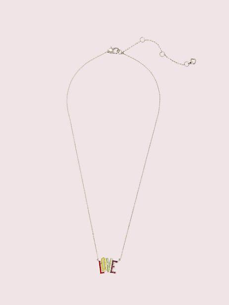 Into the sky love mini pendant   Kate Spade New York