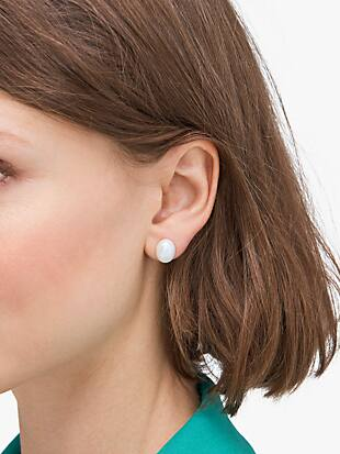 pearl drops pearl studs by kate spade new york hover view