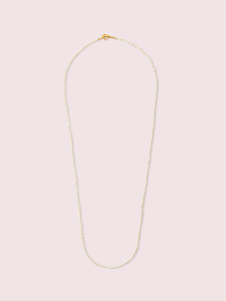 pearl drops long pearl necklace by kate spade new york