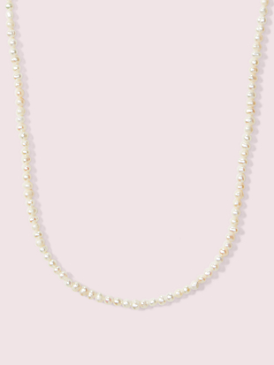 pearl drops long pearl necklace by kate spade new york non-hover view