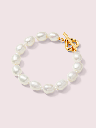 pearl drops pearl bracelet by kate spade new york non-hover view