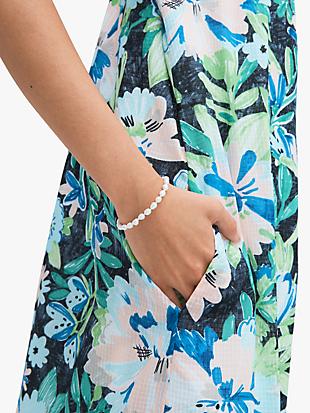 pearl drops small pearl bracelet by kate spade new york hover view