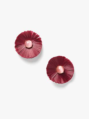 posh poppy studs by kate spade new york non-hover view