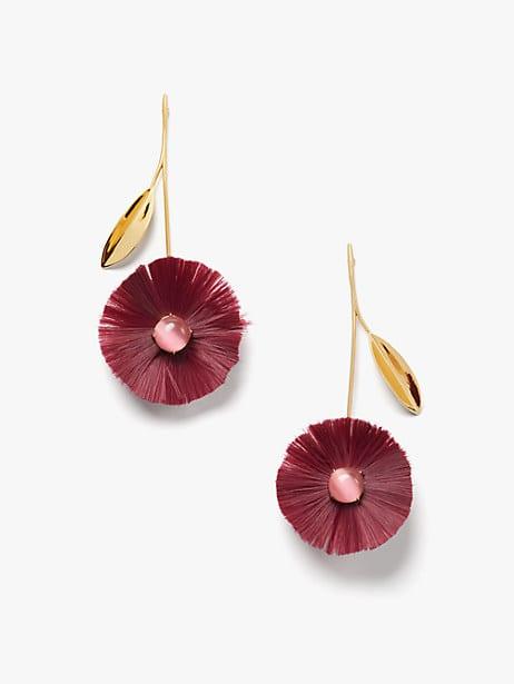 posh poppy statement earrings by kate spade new york