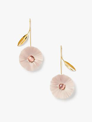 posh poppy statement earrings by kate spade new york non-hover view