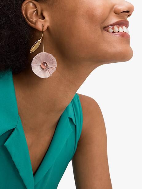 Posh poppy statement earrings | Kate Spade New York