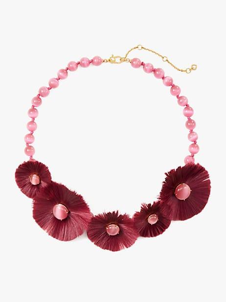 posh poppy statement necklace by kate spade new york