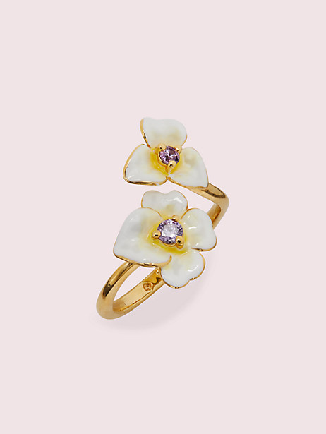 precious pansy ring by kate spade new york