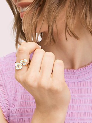 precious pansy ring by kate spade new york hover view