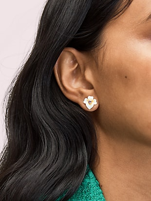 precious pansy studs by kate spade new york hover view