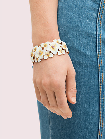 precious pansy statement bracelet, , rr_productgrid