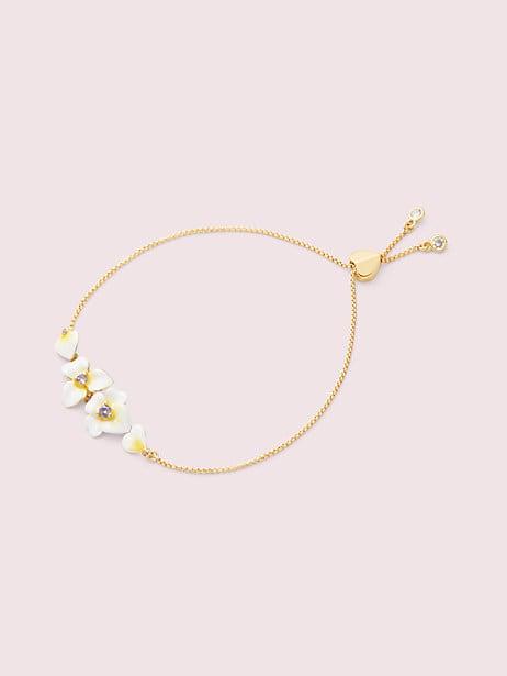 precious pansy slider bracelet by kate spade new york