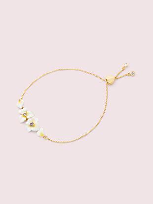 precious pansy slider bracelet by kate spade new york non-hover view
