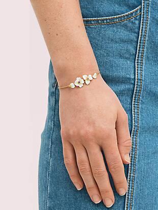 precious pansy slider bracelet by kate spade new york hover view