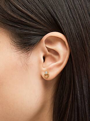 shining spade studs by kate spade new york hover view