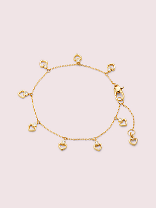 shining spade linear bracelet by kate spade new york non-hover view