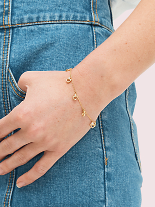 shining spade linear bracelet by kate spade new york hover view