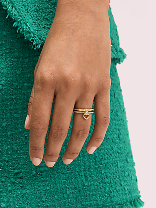 shining spade ring by kate spade new york hover view