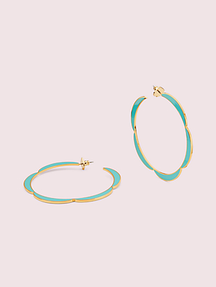 sliced scallops hoops by kate spade new york non-hover view