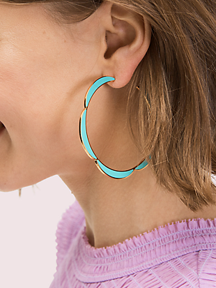 sliced scallops hoops by kate spade new york hover view
