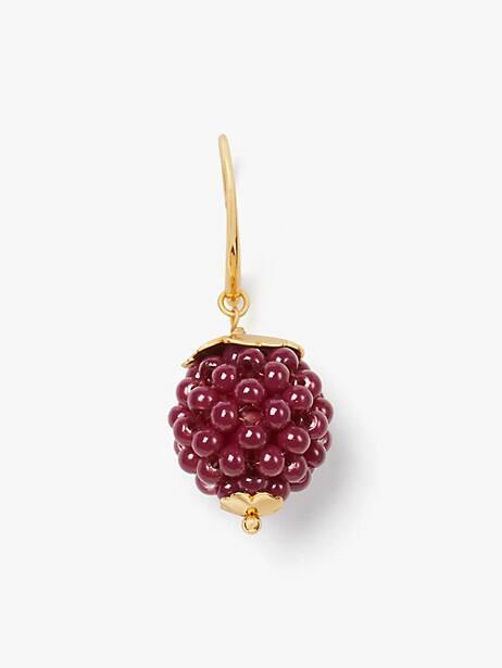 Very berry drop earrings | Kate Spade New York