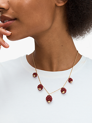 very berry necklace by kate spade new york hover view