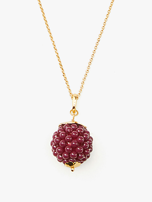very berry pendant by kate spade new york non-hover view