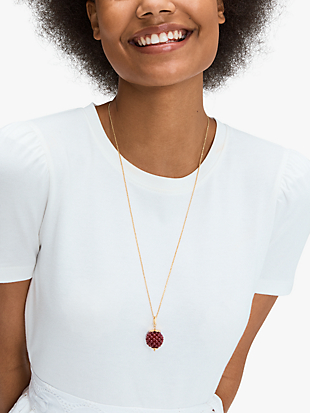 very berry pendant by kate spade new york hover view