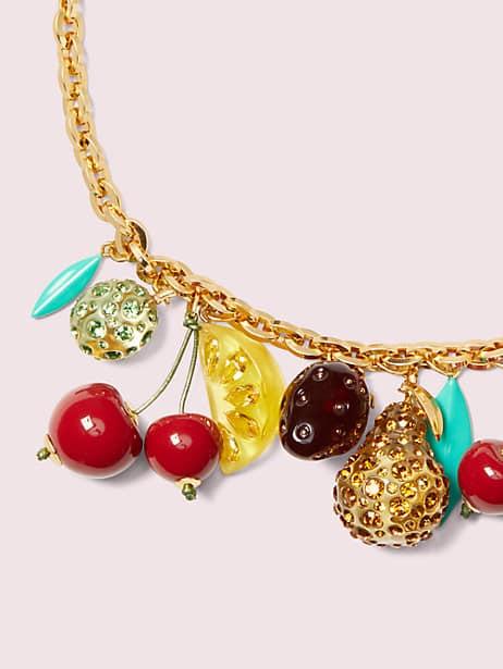 Tutti fruity charm necklace | Kate Spade New York