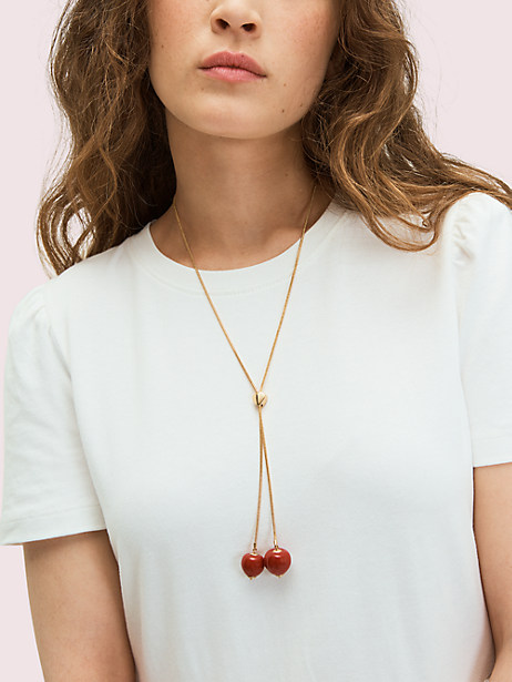 Tutti fruity slider necklace   Kate Spade New York
