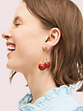 tutti fruity cherry linear earrings, , s7productThumbnail