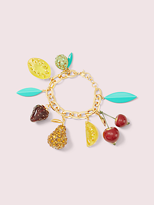 tutti fruity charm bracelet by kate spade new york non-hover view