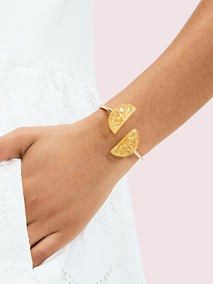 tutti fruity lemon flex cuff by kate spade new york hover view