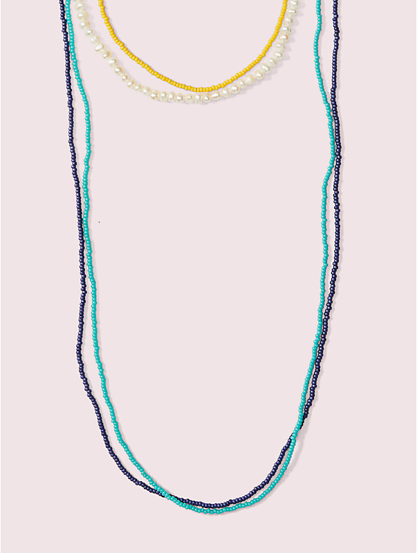 urban jungle seed bead multistrand necklace, , rr_large