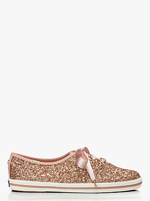 keds x kate spade new york glitter sneakers by kate spade new york non-hover view