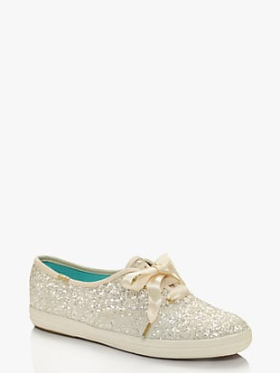 keds x kate spade new york glitter sneakers by kate spade new york hover view