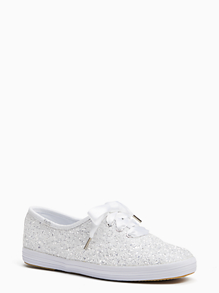 keds x kate spade new york champion glitter sneakers by kate spade new york non-hover view